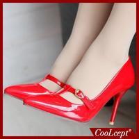 coolcept высокой пятки обувь женщины сексуальное платье обувь моды насосы p10907 eur размер 34-43