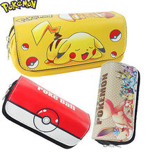 Pokemon go Team Pen Pencil Case Bag Cosmetic Pokemon Makeup Pouch Coin Purse(China (Mainland))