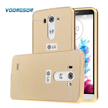 Buy VOONGSON Cases LG Optimus LG G3 Case D855 D850 Luxury Acrylic Mirror Back Cover + Plating Aluminum Metal Frame High for $3.36 in AliExpress store