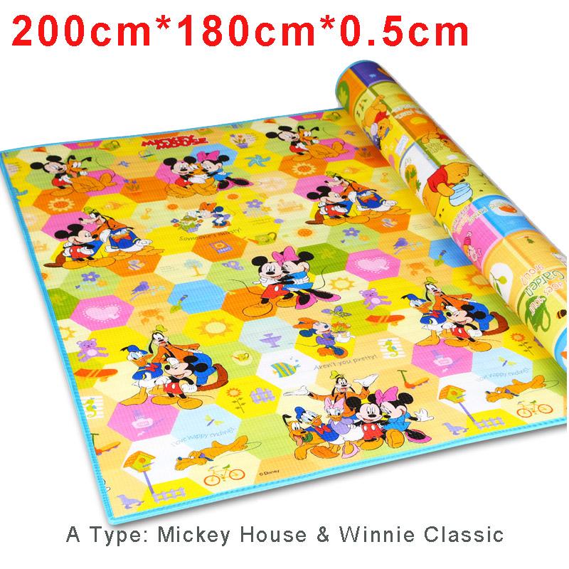 playing carpet for kid soft road rug bebe plastic
