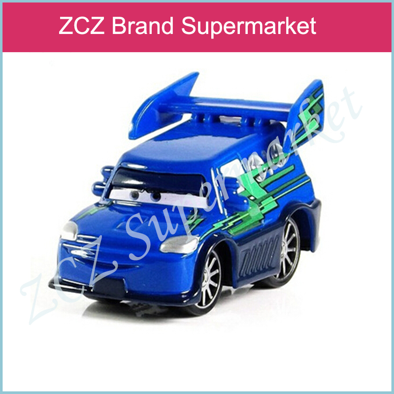 ZCZ Pixar Cars DJ with flames Metal Diecast Toy Car 1:55 Loose Brand New In Stock ZX269(China (Mainland))