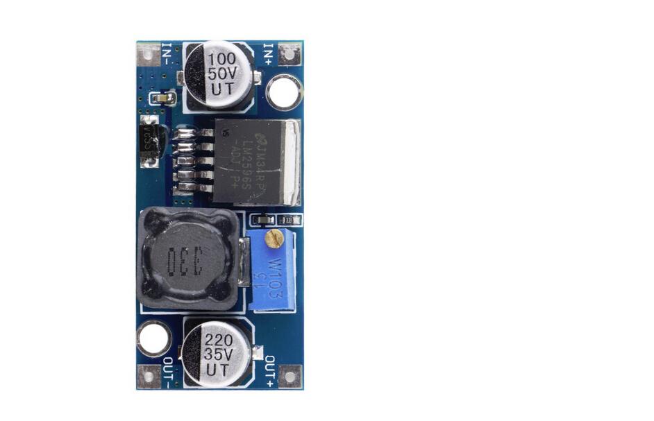 2015 Ultra small LM2596 power supply module DC DC BUCK 3A adjustable buck module regulator ultra