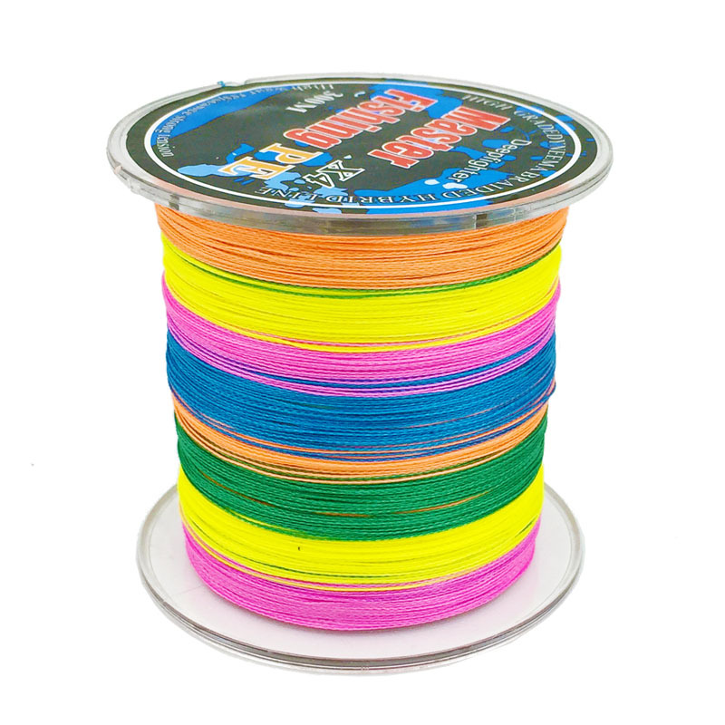Free Shipping Japaness 300 Meters Master Multicolour PE Braided Fishing Line Superior Brand Support 10 metres 1 color(China (Mainland))