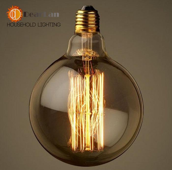 Buy g125 vintage edison light bulbs for for Edison bulb fixture diy