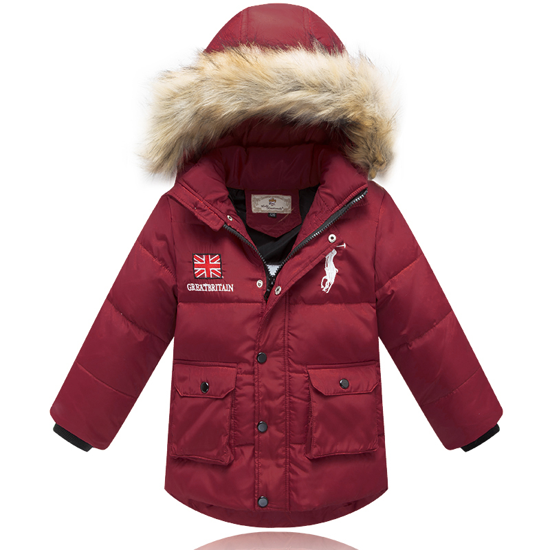2015new Brand Children Down Jacket children outerwear Warm boy coat winter jacket for boy children's winter jacket free shipping(China (Mainland))