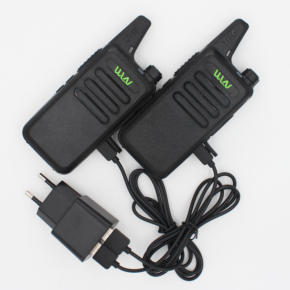 4pcs Portable UHF Walkie Talkie Radio WLN KD-C1 walkie talkie with good price and high quality,fashion(China (Mainland))