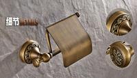 Cooma ванной специальные Европейской античной меди туалетной бумаги Держатель рулона туалетной бумаги держатель полотенце стойку коробки f309 бесплатно shippi