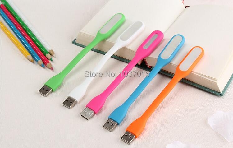 5 Colors Brand New Bar Mini Portable LED Lamp Power Base Computer USB Light With Retail Package Via DHL 200pcs(China (Mainland))