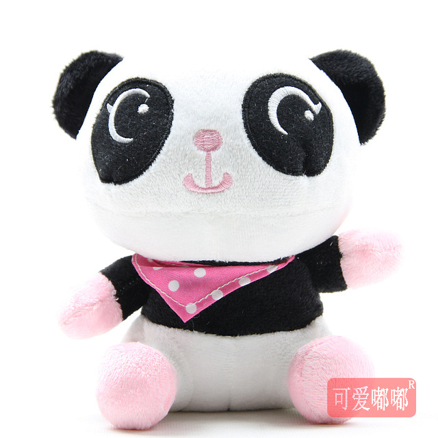 Doll giant panda plush toy panda doll birthday gift