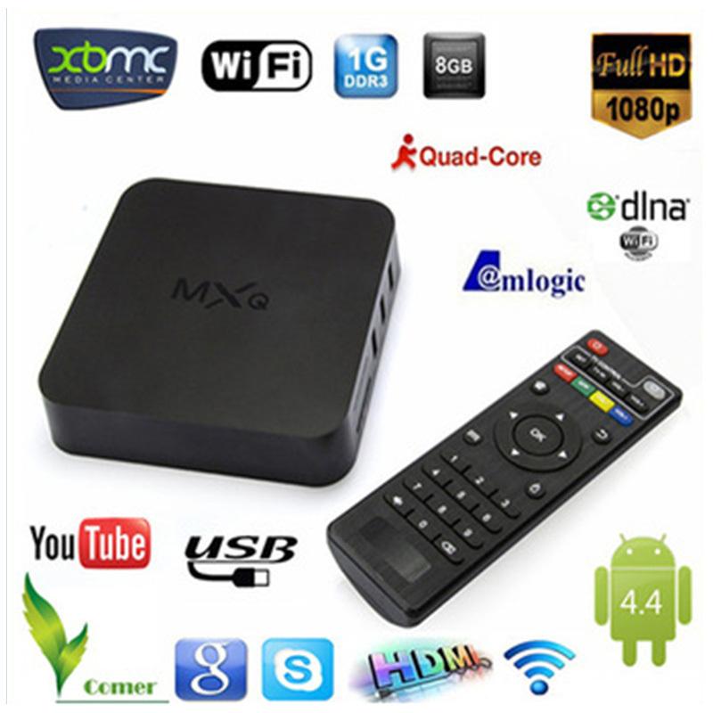 2015 Original New MXQ Android TV BOX Amlogic S805 Quad Core IPTV Android 4.4 Kitkat with KODI/XBMCbetter than MX, CS918, MAG250(China (Mainland))