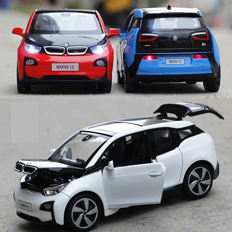 1:32 Brand New Scale Diecast Car Model Toys Classical i3 Metal Pull Back Car Toy For Children Gift Free Shipping(China (Mainland))