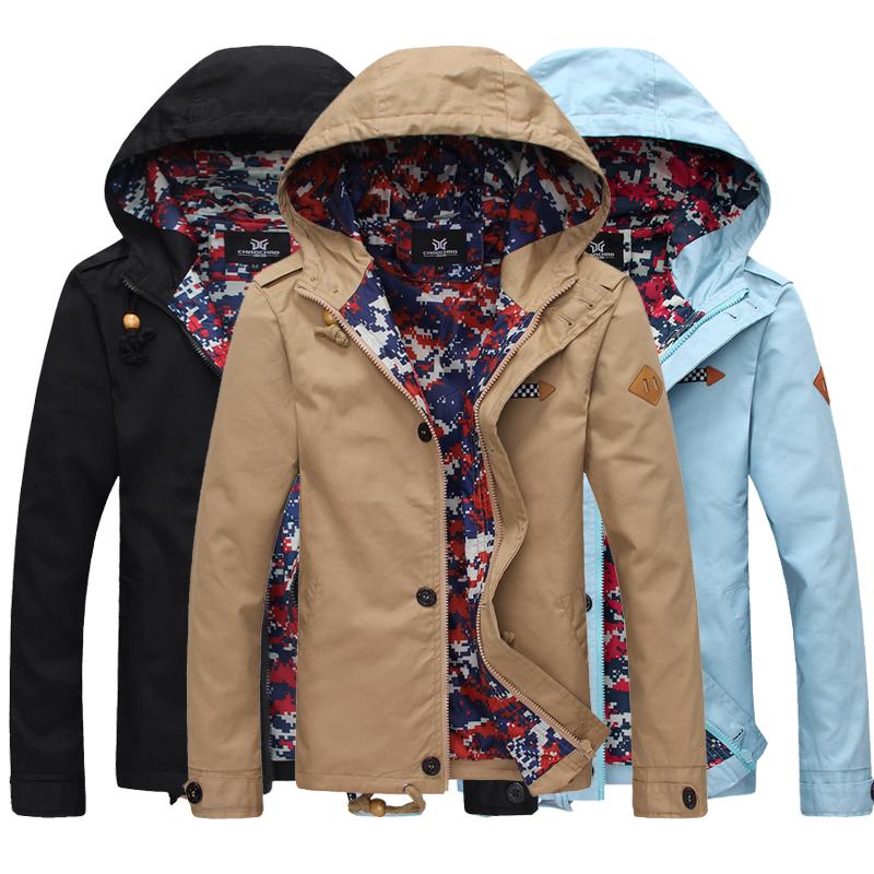 Men S Clothing Slim Jacket Tidal Current Male Summer