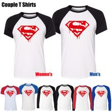 Melting Superman Marvel Superhero Gym Bodybuilding Fitness Design Printed T-Shirt Men's Boy's Graphic Tee Tops