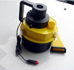 Big discount New Portable high efficiency 12V Wet & Dry Auto Car Dust Vacuum Cleaner with Brush / Crevice / Nozzle Head Y29(China (Mainland))
