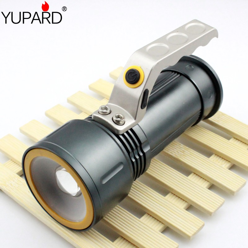 zoomable Flashlight zoom Spotlight Searchlight CREE XM-L2 LED T6 LED white red light emergency Torch 18650 rechargeable battery<br><br>Aliexpress