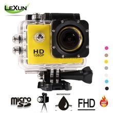 FHD 1080P Action Digital Camera Photograph Cameras 2 inch Screen Mini Camcorder Underwater waterproof Camera Video Recorder(China (Mainland))