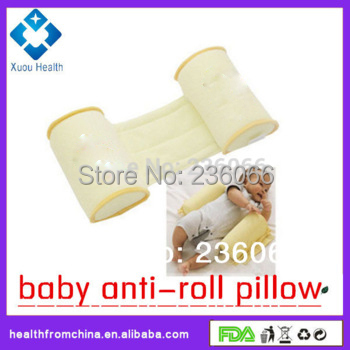 New Arrive Baby Anti-Roll Pillow,Baby Neck Cushion For Baby Care,1pcs Packaged, More Comfortable and Safety Sleep For Baby(China (Mainland))