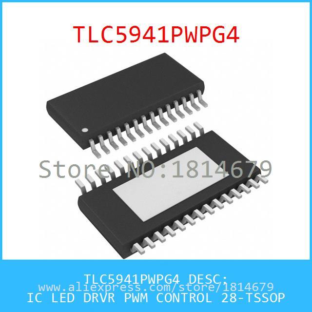 Integrated Circuit TLC5941PWPG4 IC LED DRVR PWM CONTROL 28-TSSOP 5941 TLC5941 1pcs(China (Mainland))