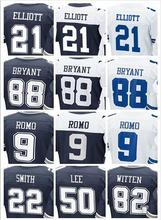 2016 New Roster Mens High Quality 100% Stitched Color Blue Thanksgiving White Elite Throwback Jerseys(China (Mainland))
