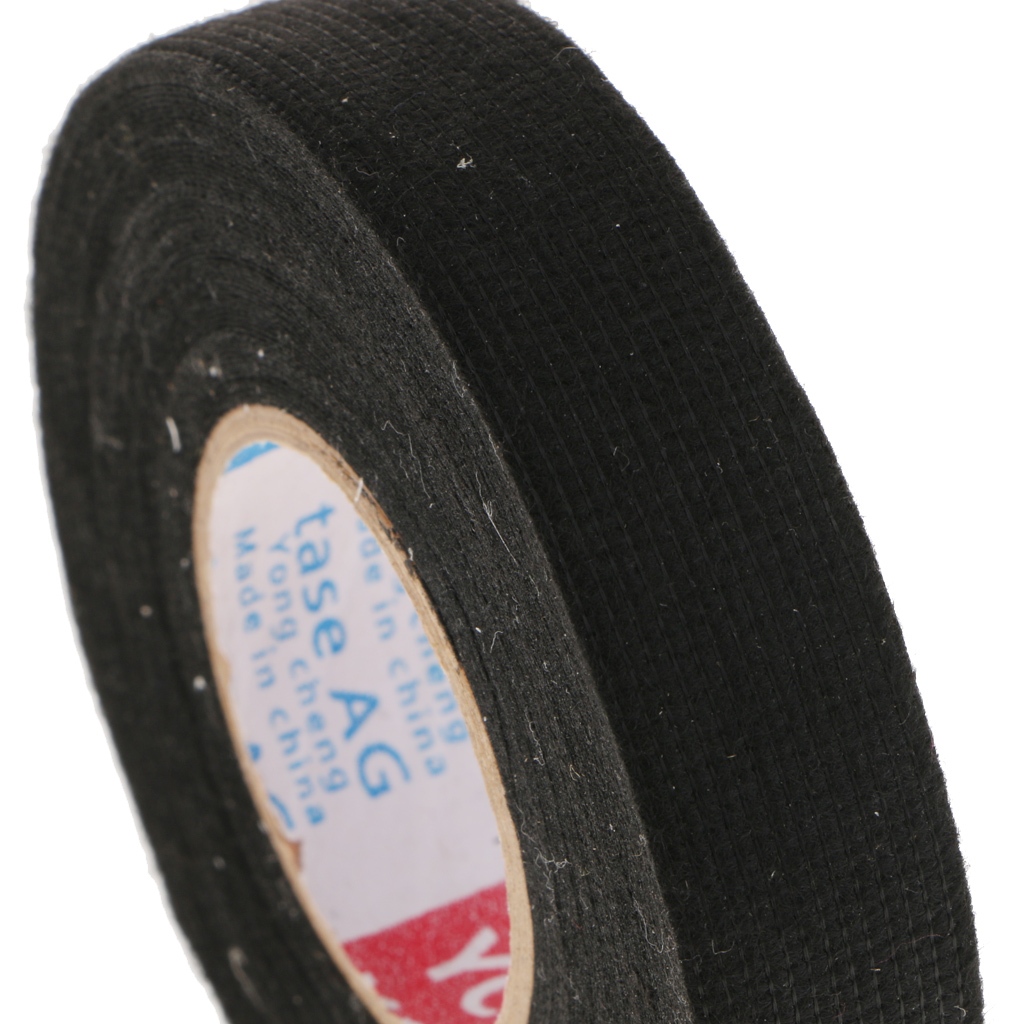 100x8mm Adhesive Cloth Fabric Tape Cable Loom Wire Harness Wrap Electrical Insulation Tape For Car Auto 100mmx8mm