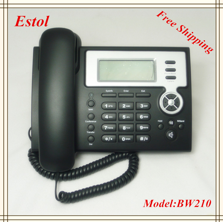 Free Shipping VoIP SIP IP Phone,Asterisk elastix compatible VoIP Phone,2 SIP lines,SIP2.0 Desktop Telephone Network Phone(China (Mainland))