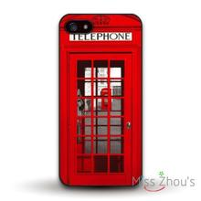 London British Telephone Booth Protector back skins mobile cellphone cases for iphone 4/4s 5/5s 5c SE 6/6s plus ipod touch 4/5/6