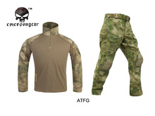 Buy Emersongear G3 Combat Shirt&Pants Knee Pads Water-resistant Training Clothing Airsoft Tactical Gear A-TACS FG Emerson for $117.44 in AliExpress store