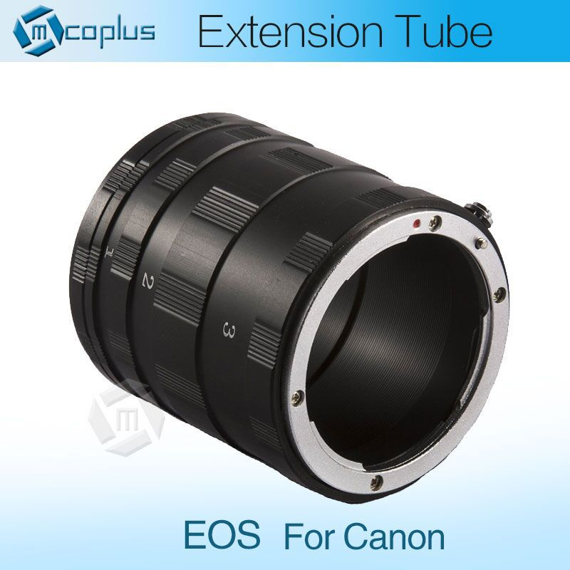 New 2015 Macro Extension Tube Lens Ring for Canon EOS350D 400D 450D 500D 550D 600D 1000D 1100D Digital SLR Cameras(China (Mainland))