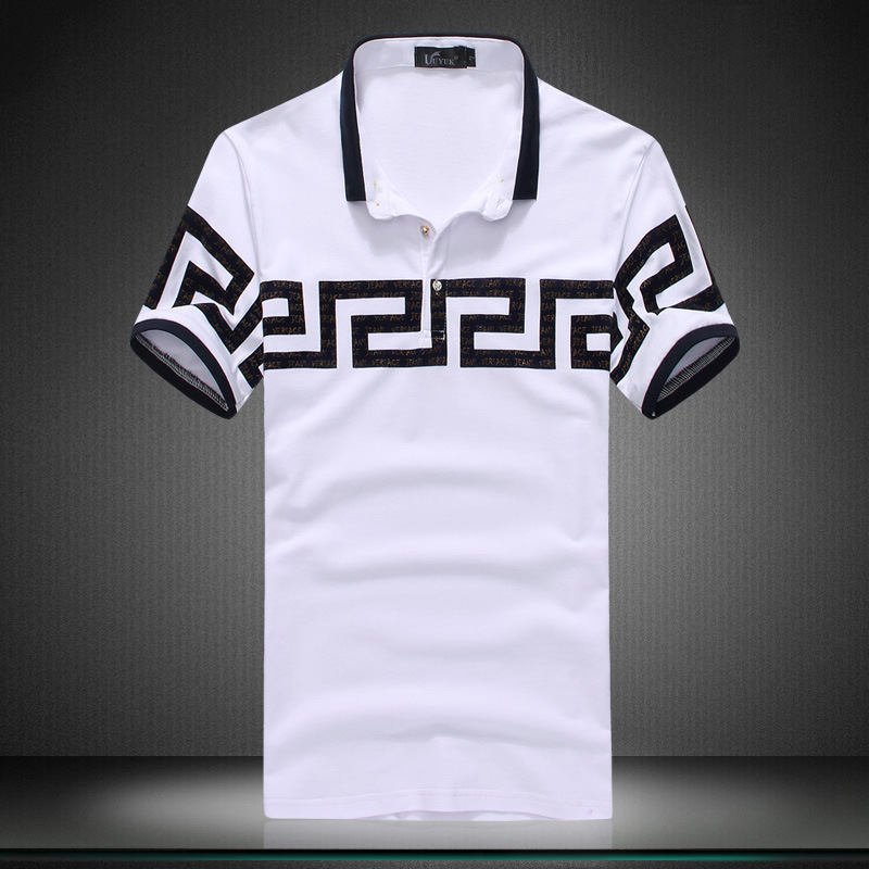 2015 Turn-down Collar Broadcloth Fashion Short  Geometric Quick Dry Shirt Mens Fashion T Shirt Men 2015 Mens T Shirts Short Одежда и ак�е��уары<br><br><br>Aliexpress