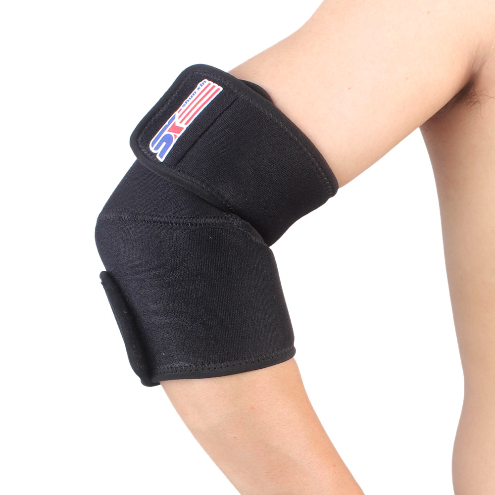 Elbow Pads Adjustable Outdoor Basketball Volleyball Sports Elbow Brace Support Elastic Strap Guard Pad Protector(China (Mainland))
