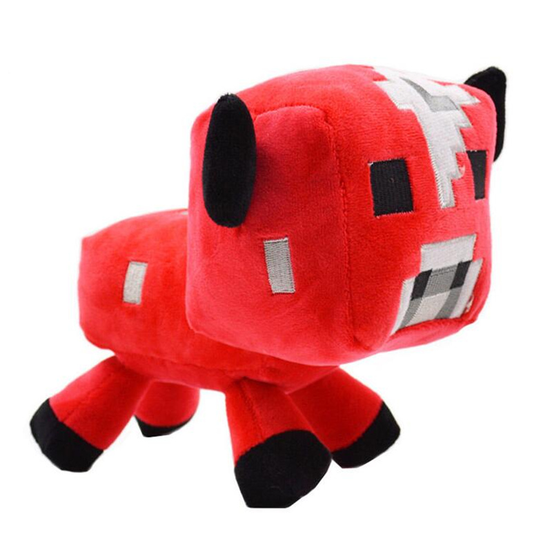 Minecraft Plush 1PCS Minecraft Cat Sheep Wolf Character Plush Soft Toy Stuffed Animal Doll Brinquedos Gift For Kids Children(China (Mainland))