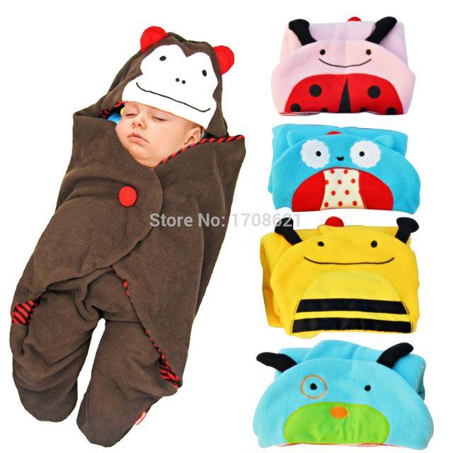 78 X 78 см детские коляски детские одеяла ребенка спальный мешок мультфильм спальный ...