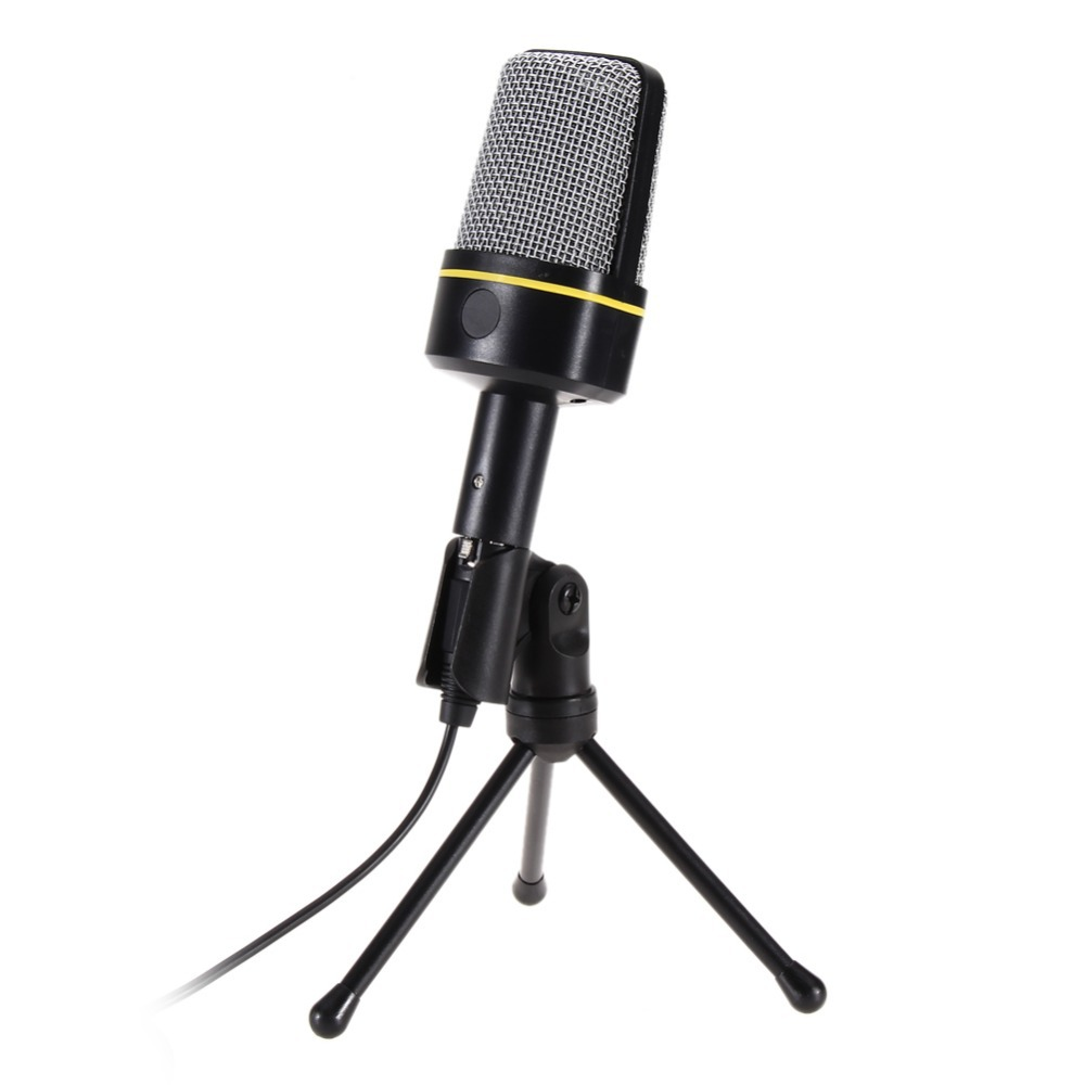 SF-920 Professional Condenser Wired Computer Microphone Mic + Tripod Stand for PC Laptop Notebook Studio Recording #1JT(China (Mainland))