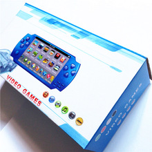 8GB Black MP5 PMP Handheld Game Player with Camera Recorder FM MP4 MP5 Video 5000 Games Gift Box(China (Mainland))