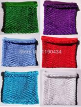 10×12 polegadas tubo top vestido tutu tops tubo De Crochê forrado para as meninas pettiskirt tutu encabeça 10 pcs por Lote