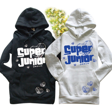 Superjunior sweatshirt sj long-sleeve superjunior outerwear - cuitiecheng store
