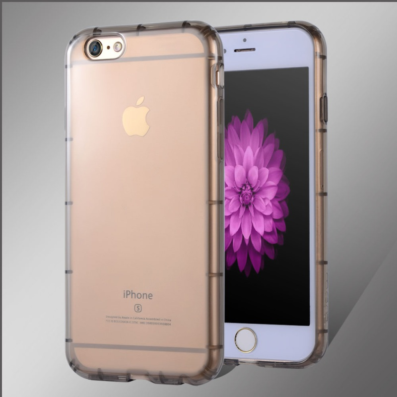 JLW Safe Gasbag Clear TPU Gel Case for iPhone 6s 6