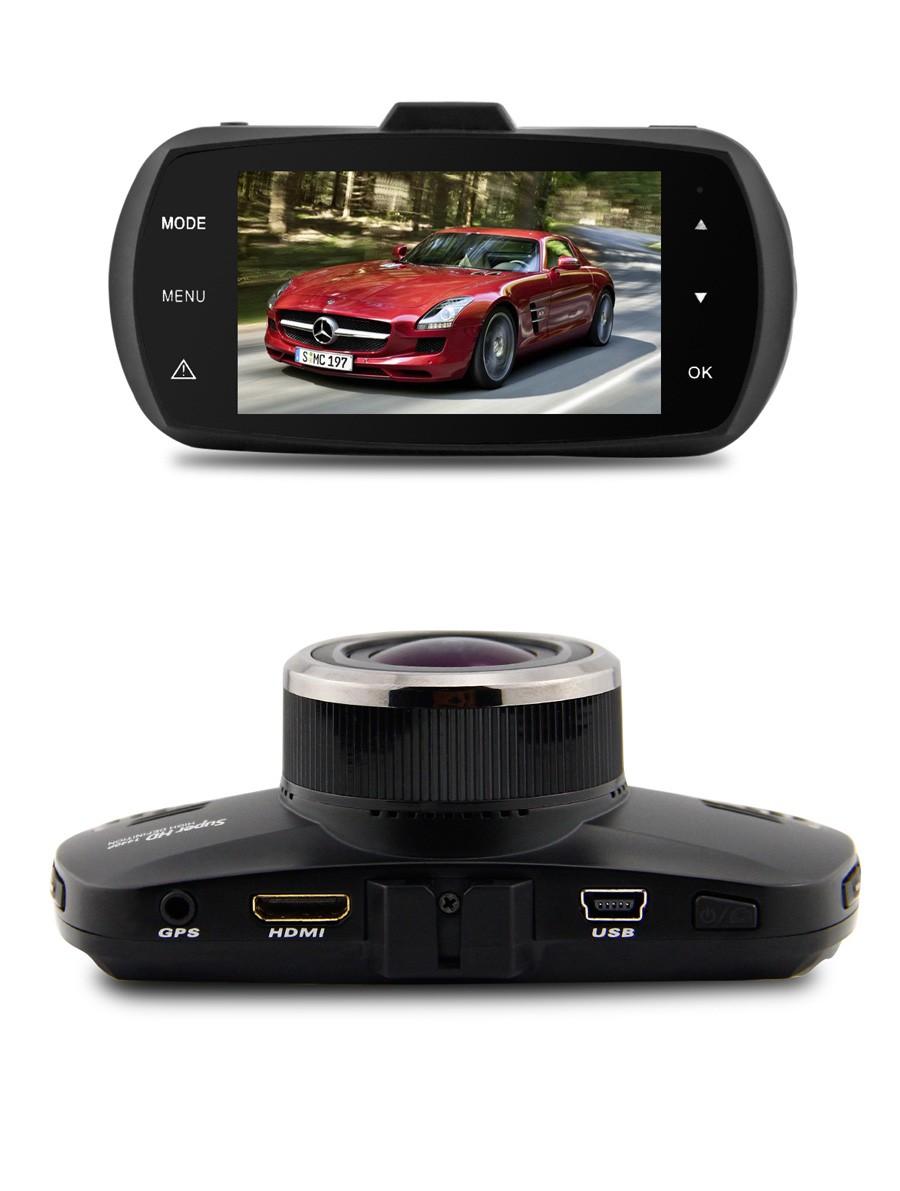 Car DVR Ambarella A12 Car Camera Video Recorder 170 Degree 2560*1440P Car DVR GPS Logger with G-Sensor HDR H.264 Night Vison