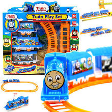 Buy Hot Baby Toys Electric Train Track Children's Toy Early Childhood Educational Assembly Thomas Game Pack Toys for $3.24 in AliExpress store