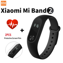 Promotion! Original Xiaomi Mi Band 2 Miband Band2 Wristband Bracelet with Smart Heart Rate Fitness Tracker Touchpad OLED Strap(China (Mainland))