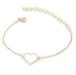 Heart Charm Bracelet for Women
