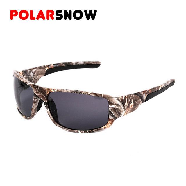 POLARSNOW 2016 Новый Камуфляж Солнцезащитные очки Высокого Качества Защитные Очки ...