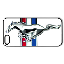 3D Ford Mustang car logo case for iPhone 4 5s 5c 6 Plus iPod Touch 4 5 6 Samsung Galaxy s2 s3 s4 s5 mini s6 s7 edge note 2 3 4 5(China (Mainland))