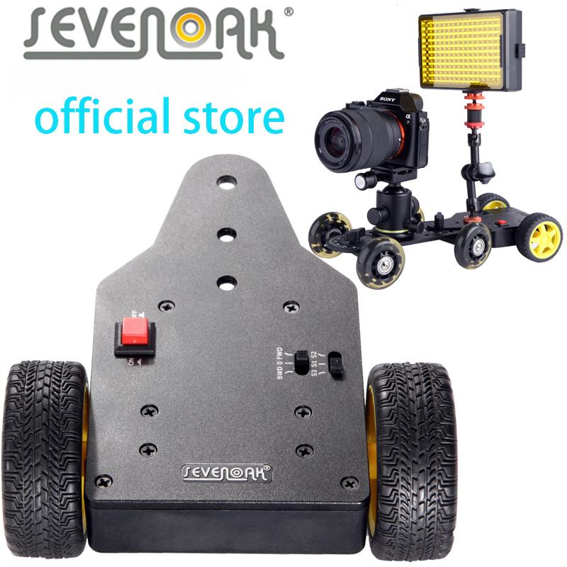 Sevenoak SK-MS01 Motorized Push Cart for DSLR Cameras Camcorders DVs<br><br>Aliexpress