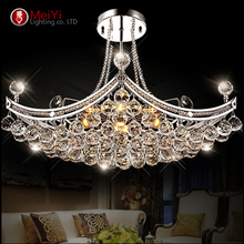 2015 New Style Crystal Chandelier Lighting Fixture Crystal Light Lustres de cristal for Living Room Ceiling Lamp Free Shipping(China (Mainland))