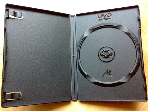 DVD box / high-standard CD case / CD plastic box / storage box(China (Mainland))
