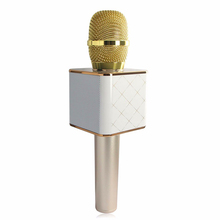 3.28 Big Discount 07 Mini Microphone Karaoke Player Wireless Bluetooth Speaker For Smart Phones Party Home KTV Singing Record(China (Mainland))
