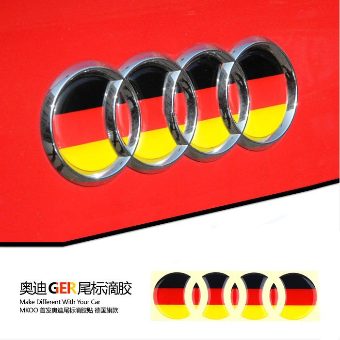 German flag stickers Volkswagen High Quality Funny Vinyl Decal Car Sticker(China (Mainland))