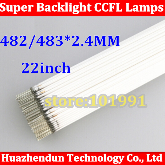New 22 inch wide Backlight CCFL Lamps Highlight 483/482mm *2.4mm for LCD Monitor Free Shipping 10pcs<br><br>Aliexpress