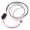 Newest 12V 5A Car LED DRL Relay Daytime Running Light Relay Harness Dimmer Auto Car Controller